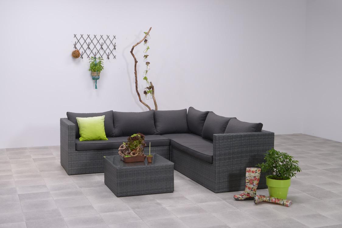 garden impressions loungeset montana earl grey. Black Bedroom Furniture Sets. Home Design Ideas