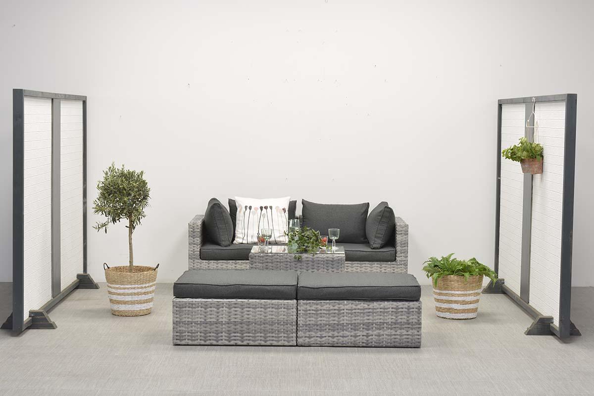 loungeset balkon cool beroemd mooie tuinbanken en. Black Bedroom Furniture Sets. Home Design Ideas