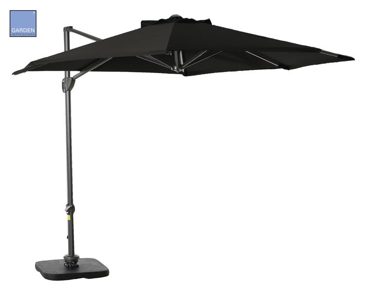 Parasolvoet Voor Zwevende Parasol.Garden Impressions Parasols En Zweefparasols