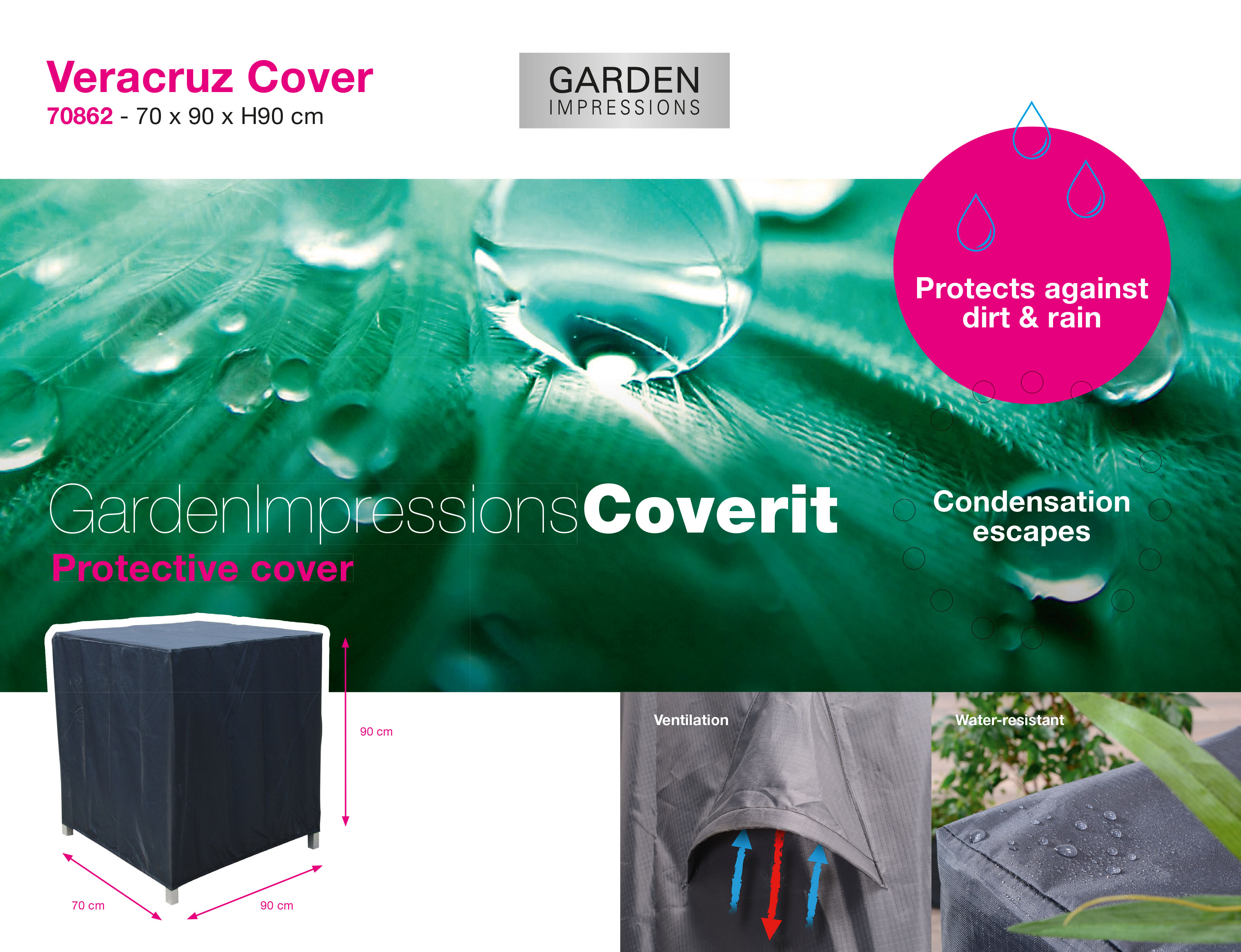 Coverit Tuinsethoes 70862