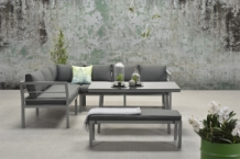 Set Blakes lounge dining  4 delig arctic grey