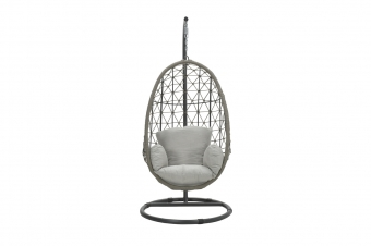 Panama swing chair egg taupe rope