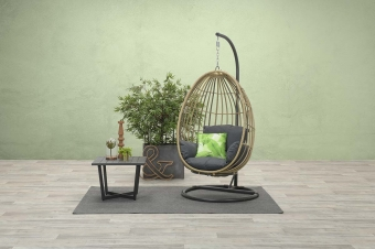 Panama swing chair egg rotan