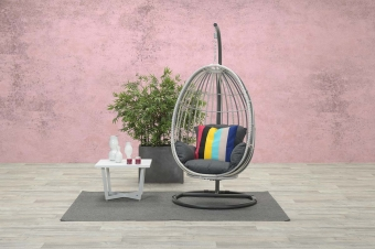Panama swing chair cloudy grey