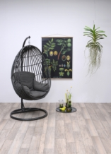 Panama swing chair grey