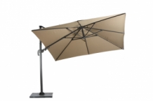 Hawaii Original parasol 3 x3 meter royal grey-taupe
